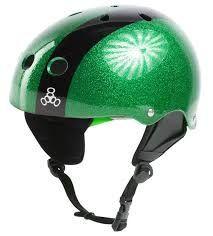 Kask do sportów wodnych LIQUID FORCE Flash Comp Green