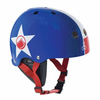 Kask do sportów wodnych LIQUID FORCE Fooshee Blue/Red/White